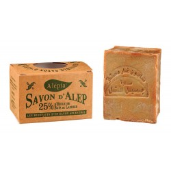 Authentique savon d'Alep 25% de baie de laurier